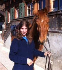 Narvan und ich an der Sonne